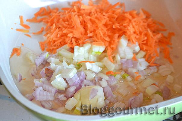 Рыбный рулет с овощами