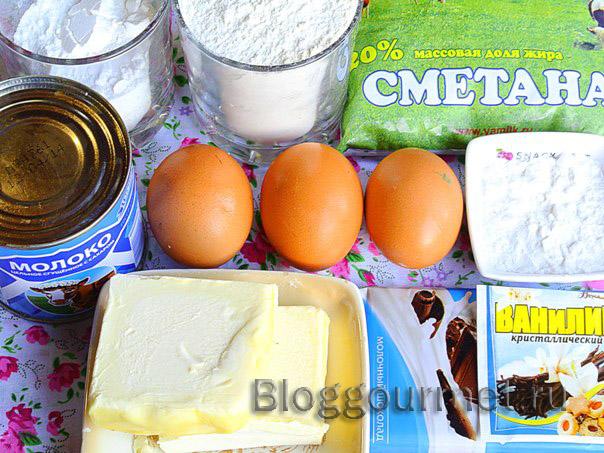 Тарталетки с шоколадным кремом
