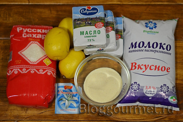 Праздничный бисквитный торт с лимонным кремом