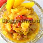 Острый соус чатни из манго
