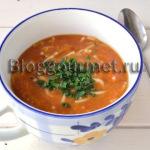 Суп по мотивам минестроне