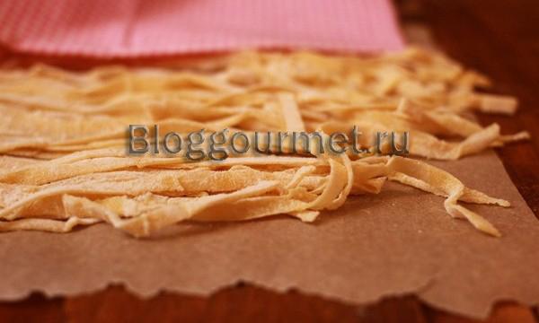 Домашняя лапша подробный рецепт с фото