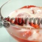 десерт из клубники рецепт с фото