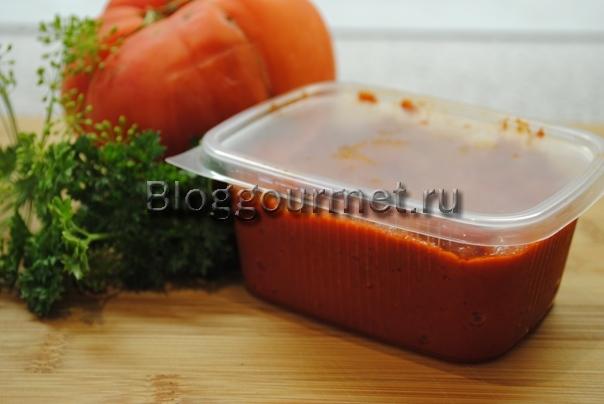 томатная паста рецепт