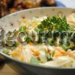 салат к шашлыку рецепт с фото