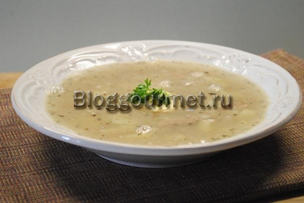 суп из рыбных консервов рецепт с фото