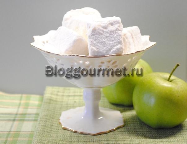 яблочный зефир в домашних условиях
