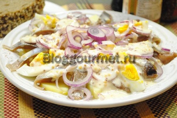 салат из сельди рецепт с фото очень вкусный