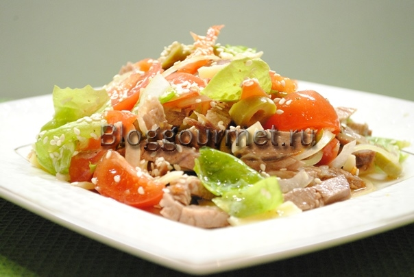 салат из говядины рецепт с фото очень вкусный