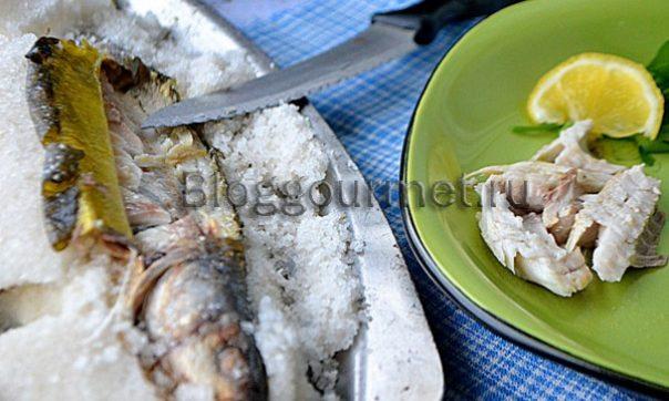 рыба в соли