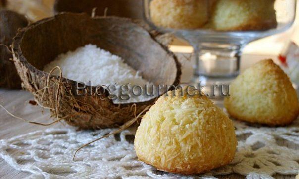 Рецепт кокосового печенья