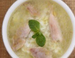 Куриный суп с лимоном по-гречески