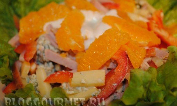 """Салат """"Вкусно, просто и легко"""" – кулинарный рецепт"""