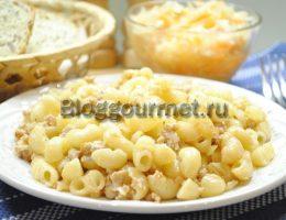 макароны по-флотски рецепт с фаршем пошаговый рецепт с фото