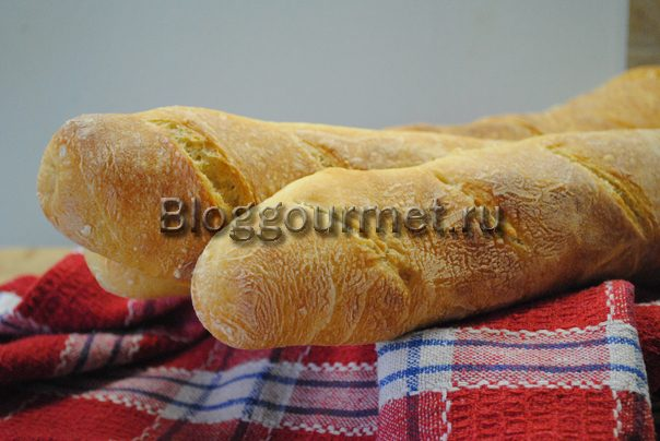 французский багет в домашних условиях в духовке рецепт с фото