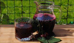 Миниатюра к статье Как сделать вишневый сок на зиму