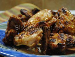 куриные крылышки на мангале рецепты маринада