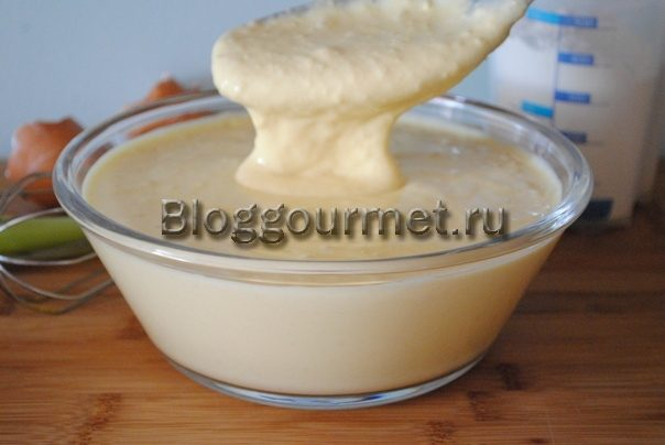 Заливное тесто на кефире для пирога