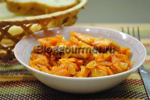 рыба под маринадом из моркови и лука рецепт с фото