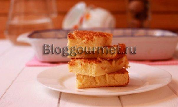 бисквит на сливках