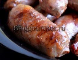 Рецепт домашних колбасок по-арабски