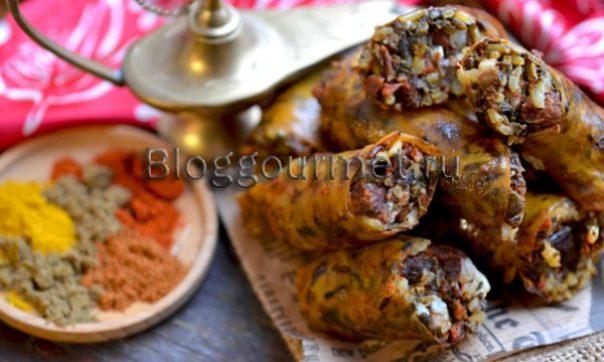 Хасип - узбекская колбаса из баранины